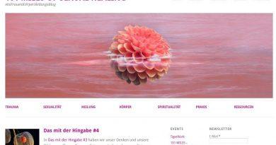 Screenshot Frauenheilungs-Blog zu Missbrauch und Trauma