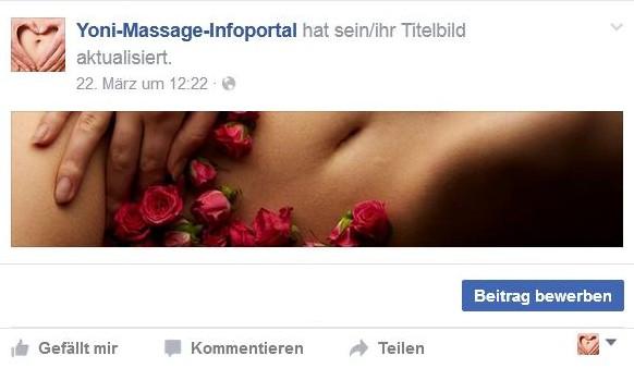 Facebook Profil Yoni-Massage-Portal