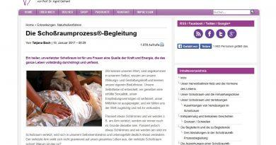 Screenshot Webseite Netzwerk-Frauengesundheit