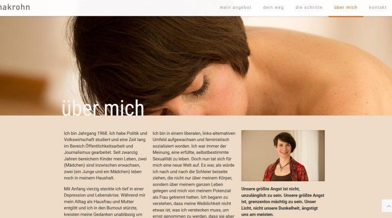 Screenshot Hanna Krohn Yoni-Massage Ahrensburg