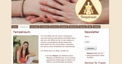 Tempelraum Eifel Yoni-Massage Johanna Holembowski