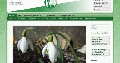 Webseite DGAM Gesundheitspraktikerin für Sexualität BfG