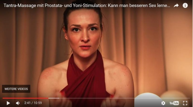 Screenshot PULS Reportage Tantramassage