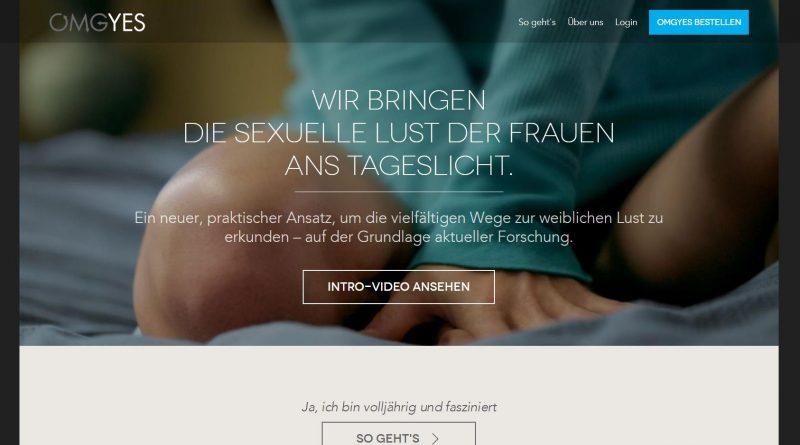 OMGYES Online über weibliche Lust lernen