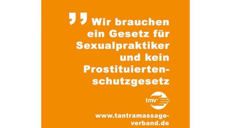 ProstSchG Stellungnahme Tantramassage Verband TMV