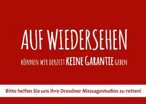 Rettungsaktion Sinnesart Dresden Massagestudios