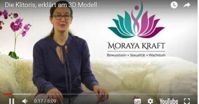 Moraya Kraft erklärt die Klitoris im Video