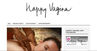 Screenshot Blog Happy Vagina