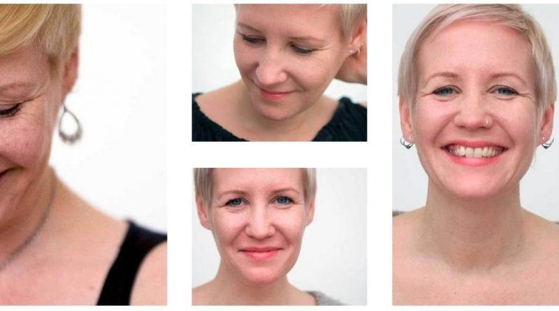 Portraitfotos Madlen, Webseite Ananda Köln