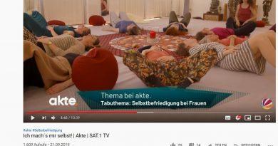 Screenshot WDR Beitrag Masturbation
