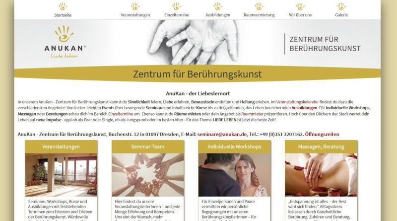 Screenshot Anukan Seminarzentrum Dresden
