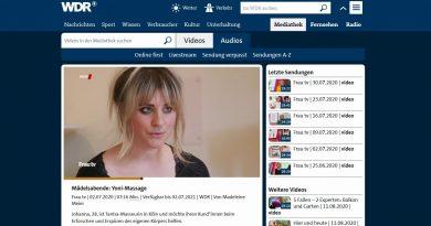 WDR-Mediathek: Mädelsabend – Yoni-Massage in Köln
