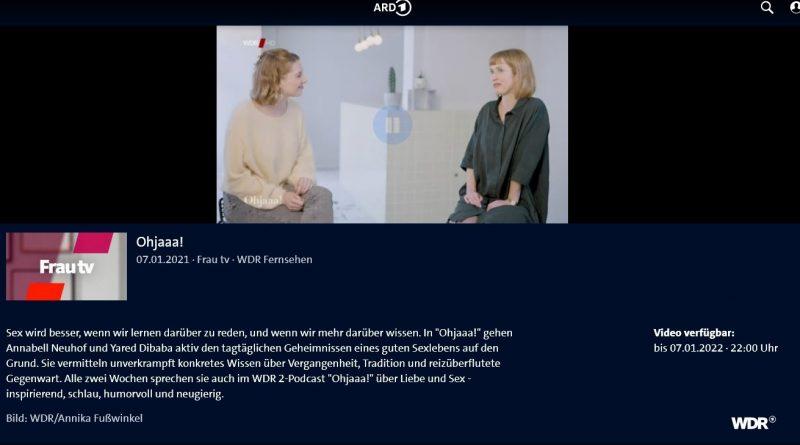 FrauTV-Ohjaaa-Moderatorin und Buchautorin