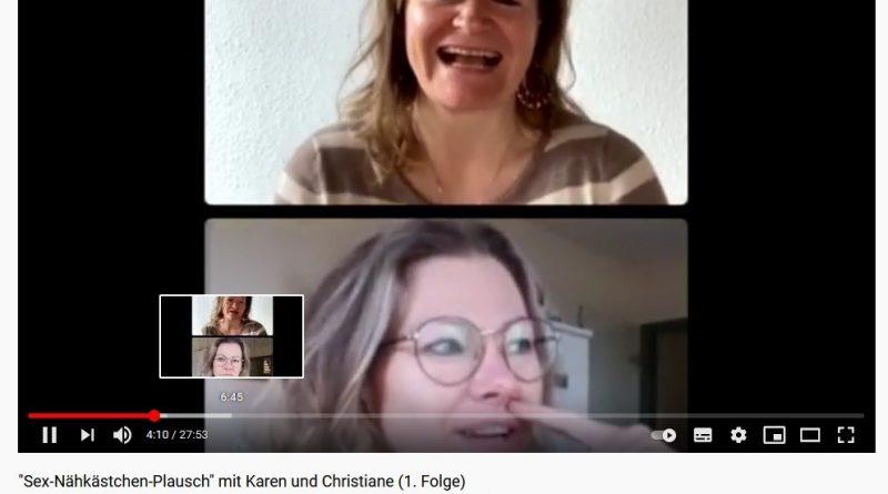 Screenshot Youtube Kanal von Karen Wolff